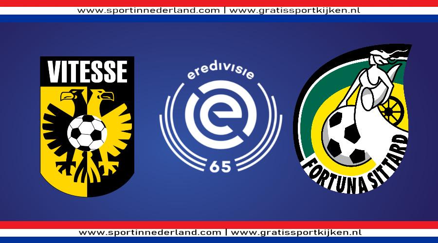 Eredivisie live stream Vitesse - Fortuna Sittard