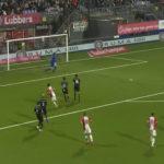 FC Emmen aanvaller Toufiqui maakt wereldgoal tegen MVV (VIDEO)