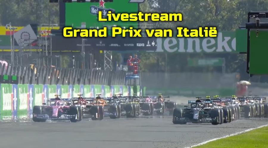 Gratis Formule 1 livestream Grand Prix van Italië in Monza