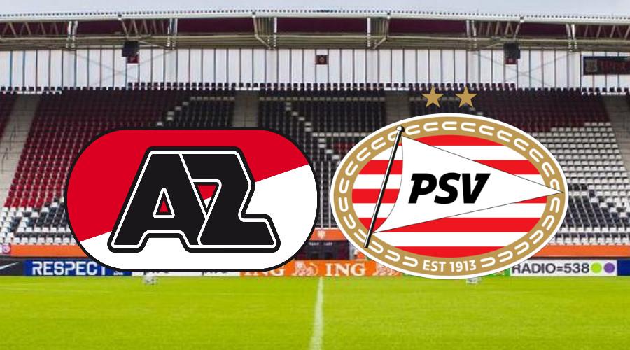 Hier kijk je vanavond via een live stream AZ - PSV