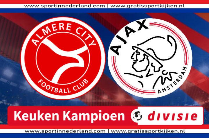 KKD live stream Almere City FC - Jong Ajax