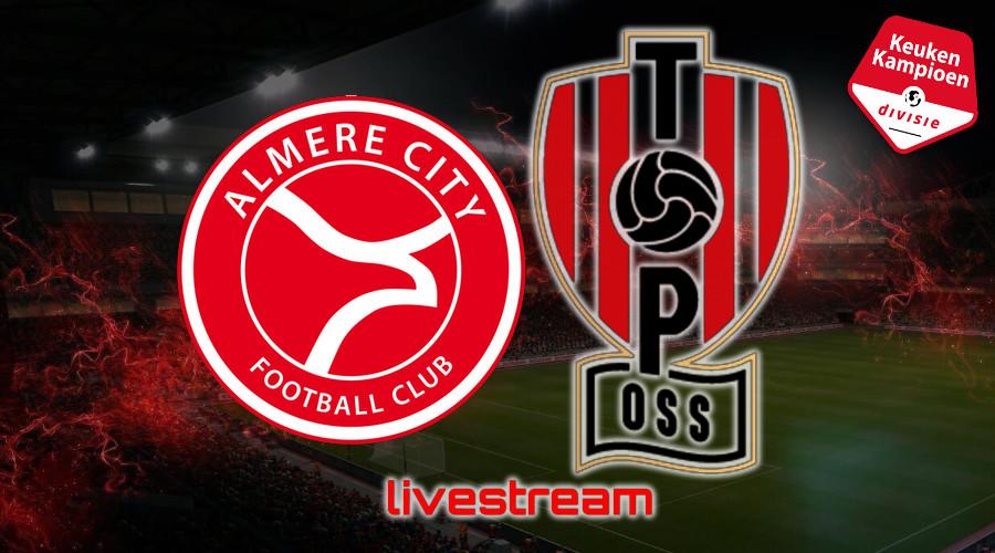 KKD live stream Almere City FC - TOP Oss