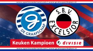 KKD live stream De Graafschap - Excelsior