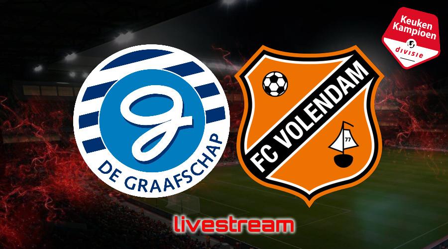 KKD live stream De Graafschap - FC Volendam