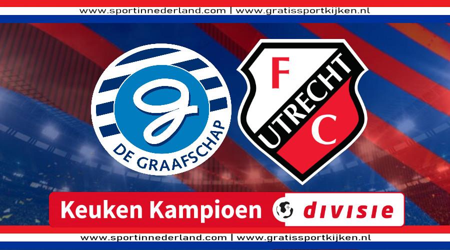 KKD live stream De Graafschap - Jong FC Utrecht