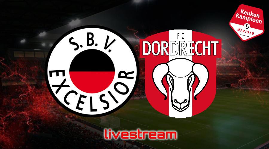 KKD live stream Excelsior - FC Dordrecht