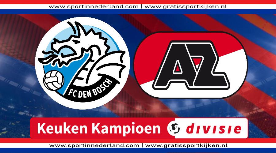 KKD live stream FC Den Bosch - Jong AZ