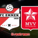 KKD live stream FC Emmen - MVV Maastricht