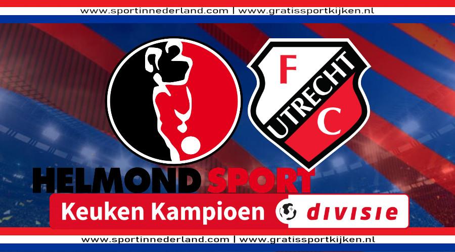 KKD live stream Helmond Sport - Jong FC Utrecht