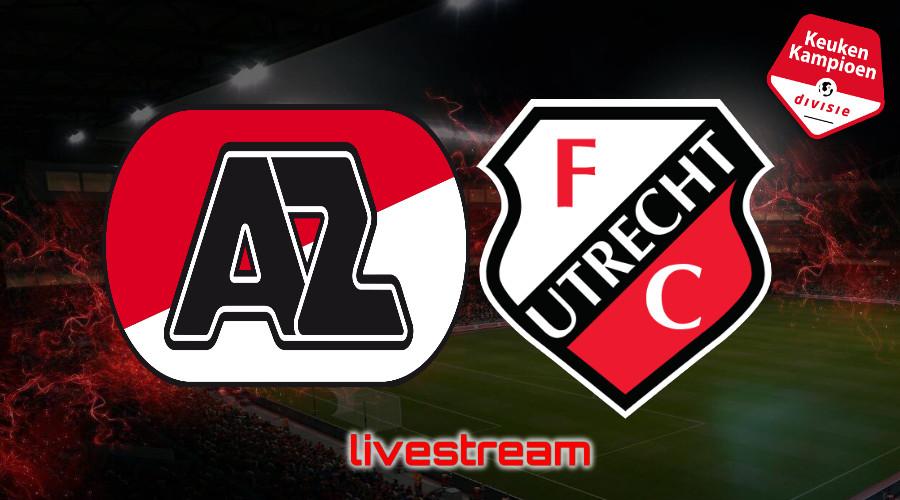 KKD live stream Jong AZ - Jong FC Utrecht