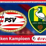 KKD live stream Jong PSV - ADO Den Haag