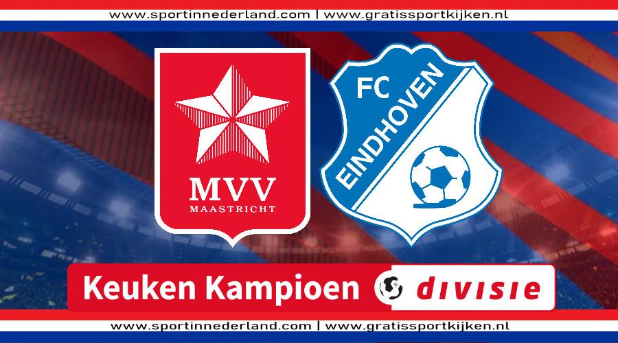 KKD live stream MVV - FC Eindhoven