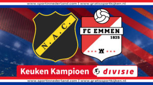 KKD live stream NAC Breda - FC Emmen
