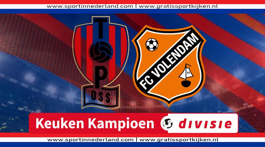 KKD live stream TOP Oss - FC Volendam