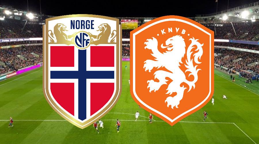 Kijk nu hier via een live stream Noorwegen - Nederland