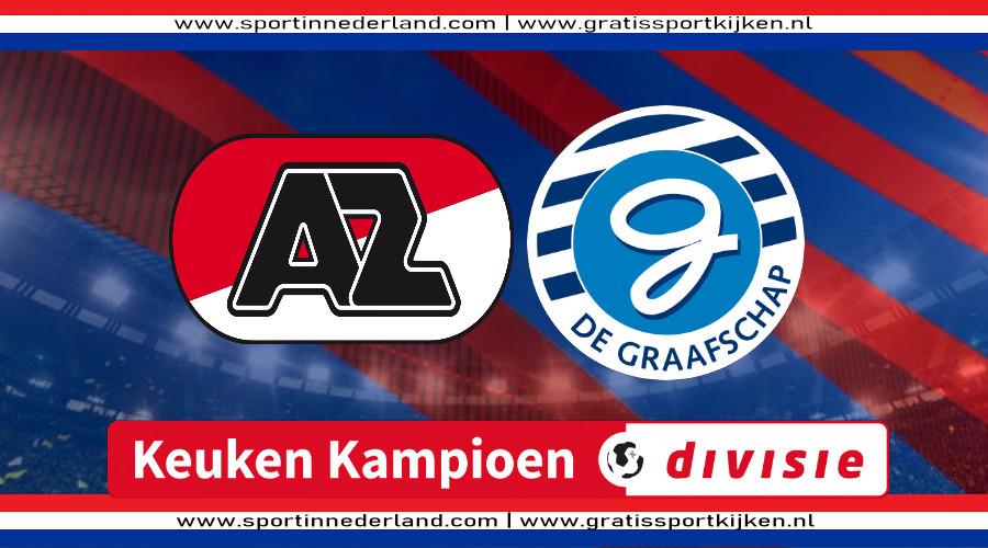 Live stream AZ Alkmaar - De Graafschap
