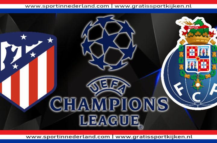 Live stream Atletico Madrid - FC Porto