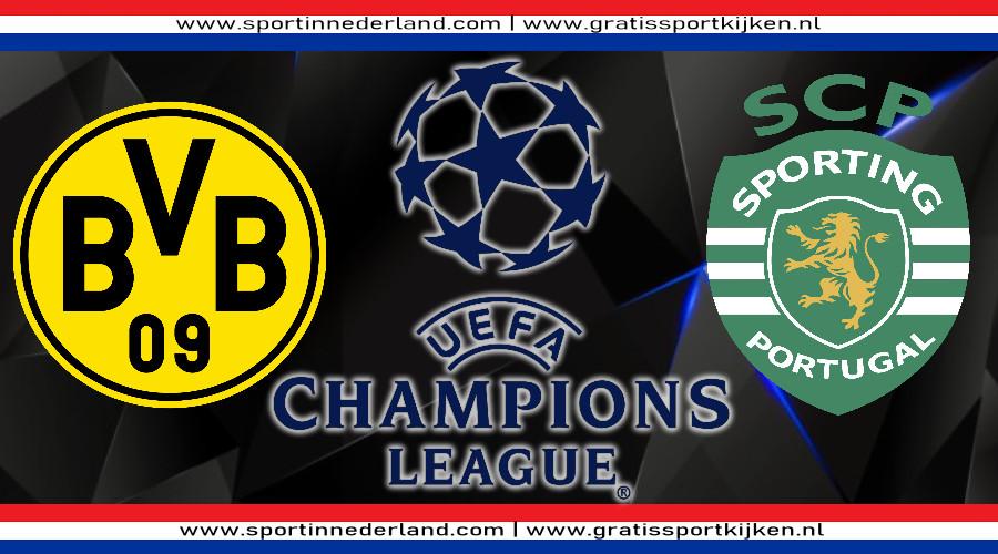 Live stream Borussia Dortmund - Sporting Portugal