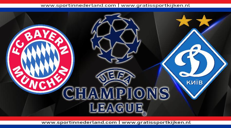 Live stream FC Bayern - Dinamo Kiev