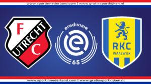 Live stream FC Utrecht - RKC Waalwijk