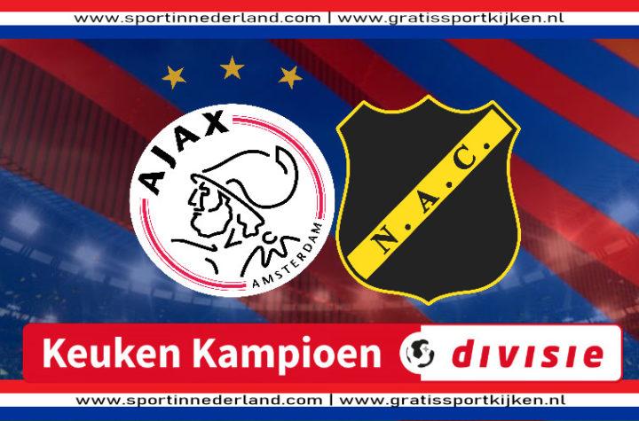 Live stream Jong Ajax - NAC Breda
