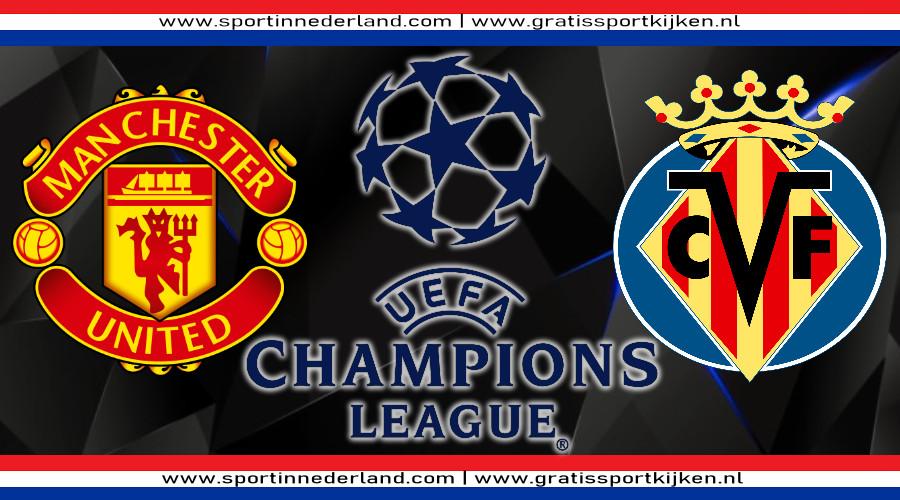 Live stream Manchester United - Villarreal