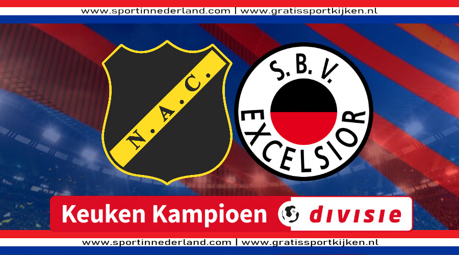 Live stream NAC Breda - Excelsior