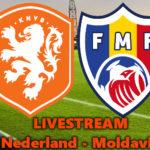Live stream Nederland -Moldavië