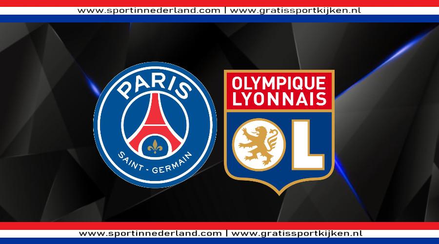 Live stream PSG - Olympique Lyonnais