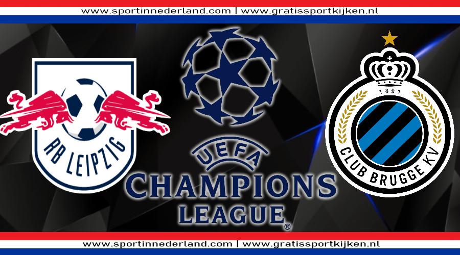 Live stream RB Leipzig - Club Brugge