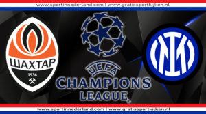 Live stream Shakhtar Donetsk - Internazionale