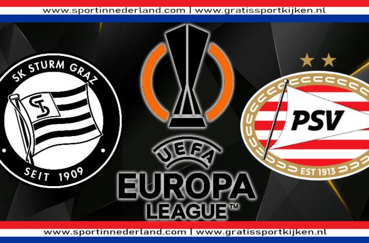 Live stream Sturm Graz - PSV