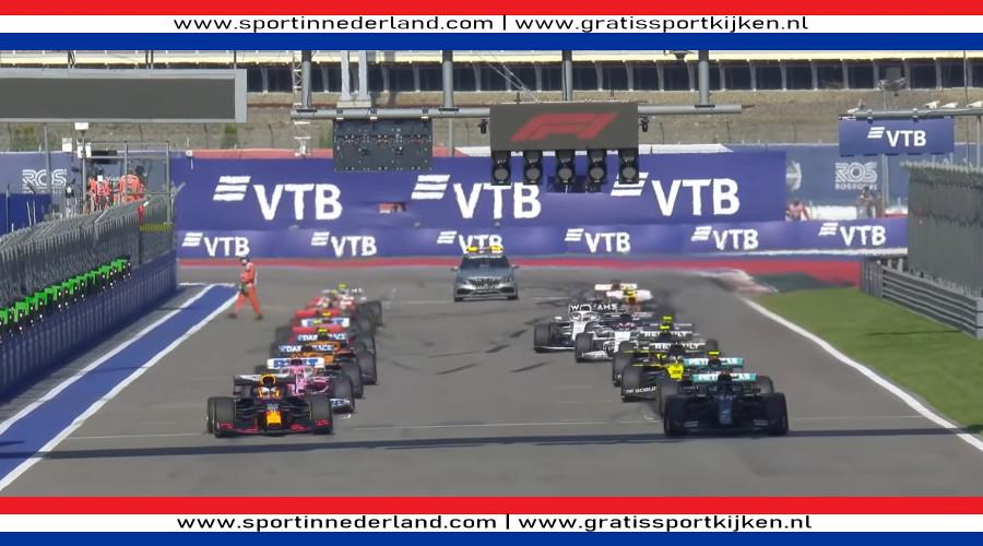 Programma Formule 1 Grand Prix Rusland