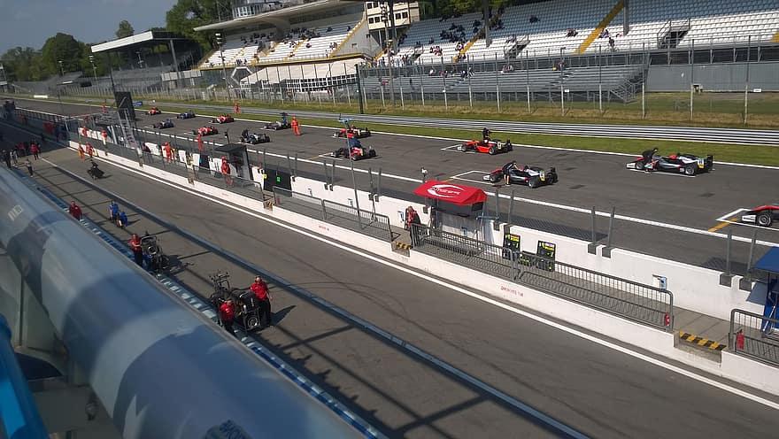 Programma Grand Prix van Monza 2021 (Foto Pikist)