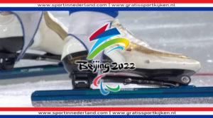 Schaatsen Beijing 2022