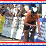 Zilveren plak voor Nederlandse ploeg op gemengde tijdrit