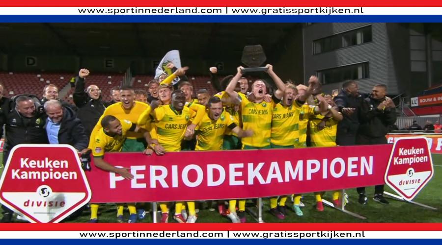 ADO Den Haag winnaar eerste periode KKD