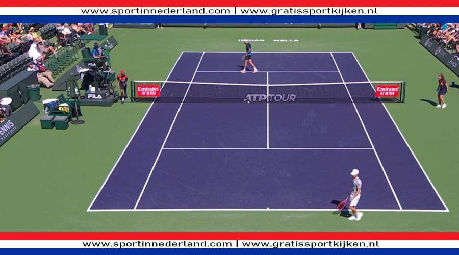 ATP en WTA live stream Indian Wells