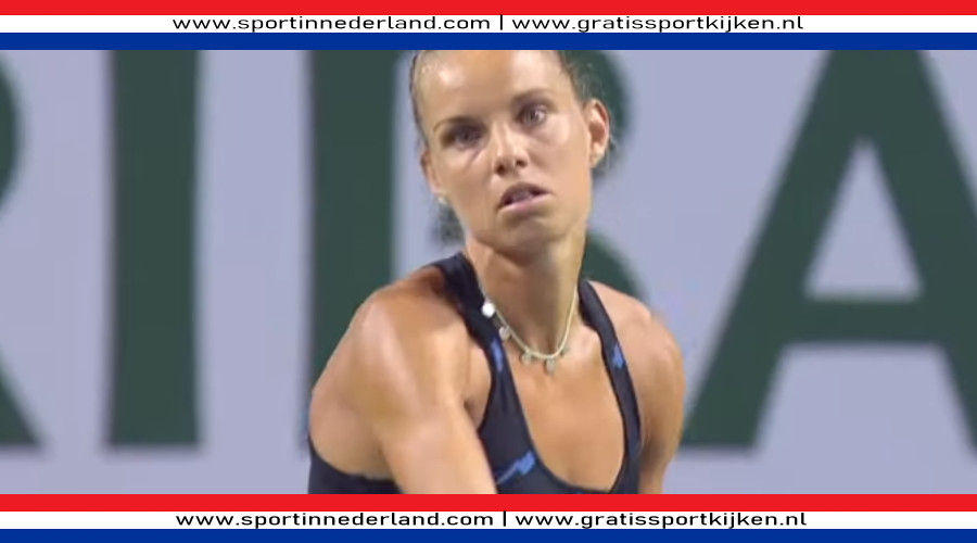 Arantxa Rus naar tweede ronde in Indian Wells