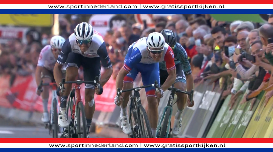 Arnaud Démare wint Parijs-Tours
