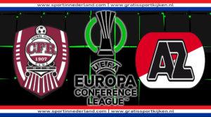 Conference League live stream CFR Cluj - AZ