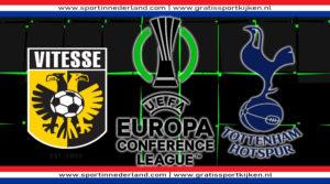 Conference League live stream Vitesse - Spurs