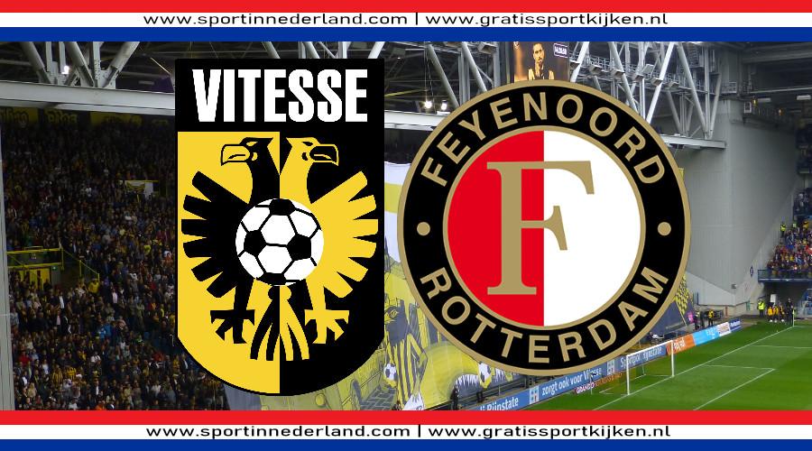 Eredivisie live stream Vitesse - Feyenoord