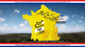 Etappeschema Tour de France vrouwen 2022