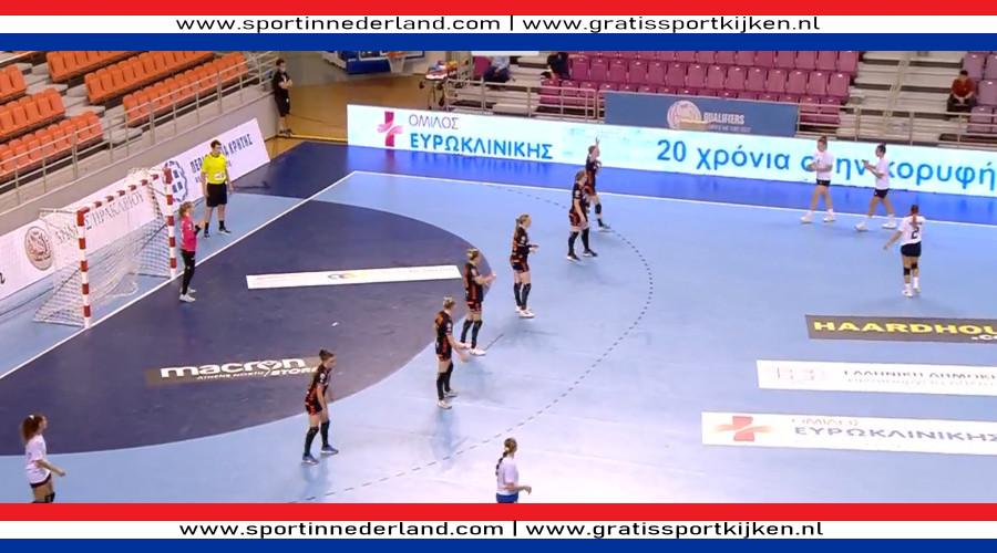 Handbalsters rollen ook Griekland op