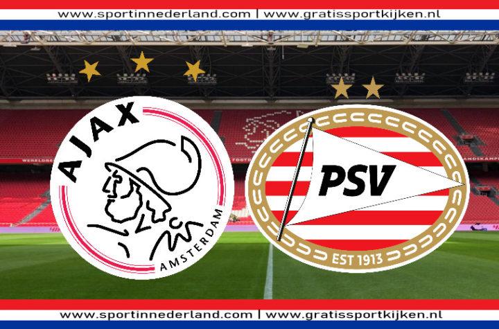 Kijk hier via een livestream Ajax - PSV