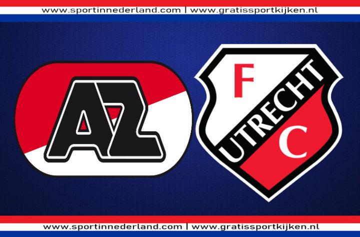 Live stream AZ - FC Utrecht