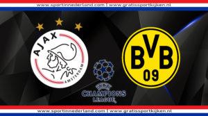 Live stream Ajax - Borussia Dortmund