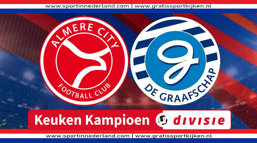 Live stream Almere City FC - De Graafschap
