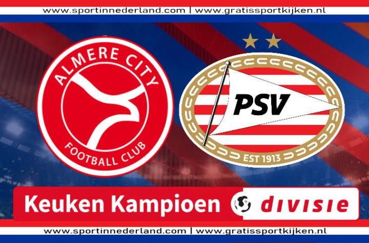 Live stream Almere City FC - Jong PSV